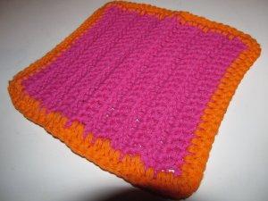 Pink & Orange Hot Pad