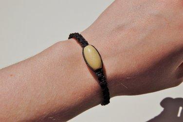 Black Macramé Bracelet 188-189