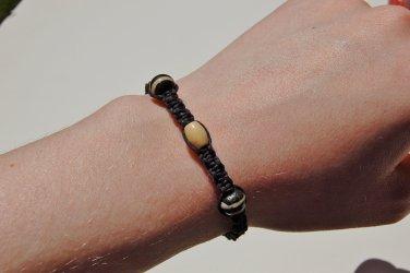 Black Macramé Bracelet 192-193