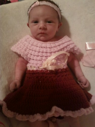 Two-Toned Baby Dress