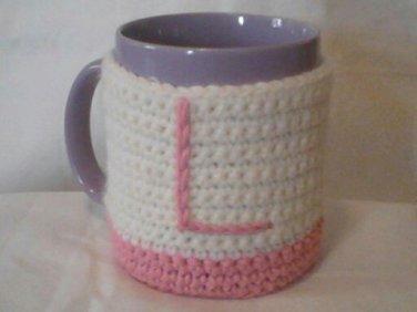 Mug Cozy Sets with Initial