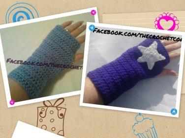 2-Pair Fingerless Gloves