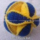 Amish Puzzle Ball - Large Size
