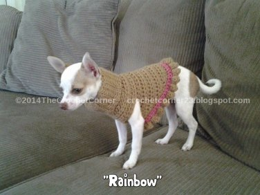 Turtleneck Small Dog Sweater