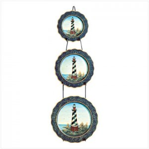 Lighthouse Plate Set