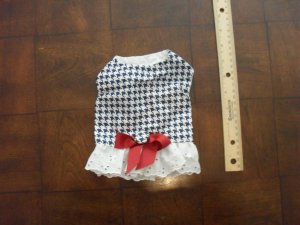 Houndstooth Dress by Doggie Duds