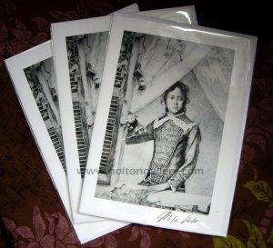 Young Kaiulani Greeting Cards