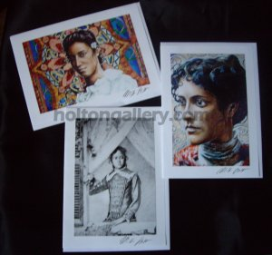 Assorted Art Greeting Cards: Crown Princess Ka'iulani