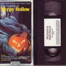THE LEGEND OF SLEEPY HOLLOW Jeff Goldblum HALLOWEEN vhs