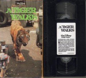 Disney A TIGER WALKS 1964 VERA MILES Brian Keith VHS