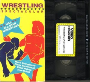 USA ALL-STAR WRESTLING SPECTACULAR  VHS