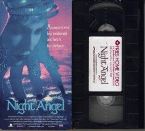 NIGHT ANGEL 1990 Hellborn ISA Andersen BLACK VHS