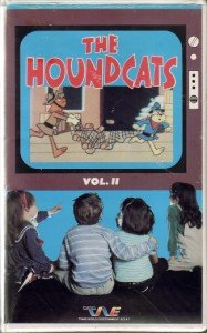 THE HOUNDCATS VOLUME 2 Hound Cats II ANIMATED VHS