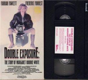 DOUBLE EXPOSURE The Story of Margaret Bourke-White FARRAH FAWCETT 1989 TV MOVIE vhs video