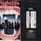 NIGHTLIFE Night Life 1989 BEN CROSS D'Abo VAMPIRE VHS
