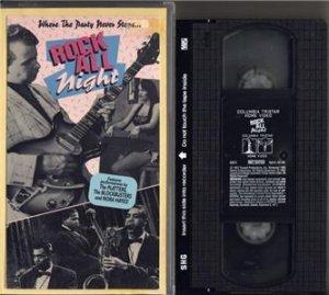 ROCK ALL NIGHT 1957 Roger Corman DICK MILLER VHS