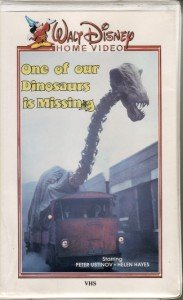 Disney ONE OF OUR DINOSAURS IS MISSING VHS