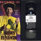 THE BRIDES OF FU MANCHU 1966 Christopher Lee VHS