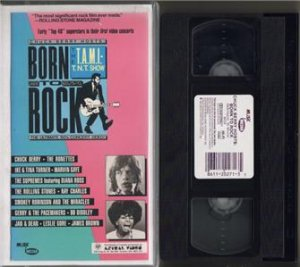 BORN TO ROCK Chuck Berry JAMES BROWN Rolling Stones 60'S VHS