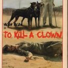 TO KILL A CLOWN 1972 Alan Alda BLYTHE DANNER VHS
