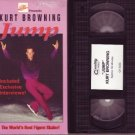 KURT BROWNING Rare oop JUMP FIGURE SKATING video VHS