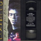 LOU REED The NEW YORK ALBUM 1989 76 Min. VHS
