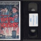 WEEKEND OF HORRORS 1986 Robert Englund WES CRAVEN VHS