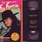 WWF WRESTLING'S FAN FAVORITE MATCHES '92 Undertaker VHS