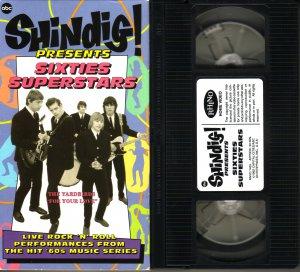 SHINDIG! SIXTIES 60's SUPERSTARS Yardbirds MAMAS & PAPAS Byrds DONOVAN Turtles
