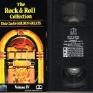 THE ROCK & ROLL COLLECTION Dick Clark GOLDEN GREATS VOL. 4 IV RARE OOP VHS