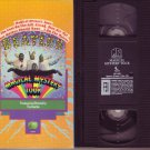 THE BEATLES MAGICAL MYSTERY TOUR 1967 MOVIE Rare VHS VIDEO