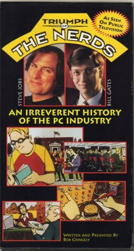 TRIUMPH OF THE NERDS 1996 Collectors 3 VHS BOX SET Rare!! STEVE JOBS Apple