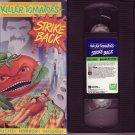 KILLER TOMATOES STRIKE BACK '90 Rare RICK ROCKWELL Crystal Carson JOHN ASTIN VHS
