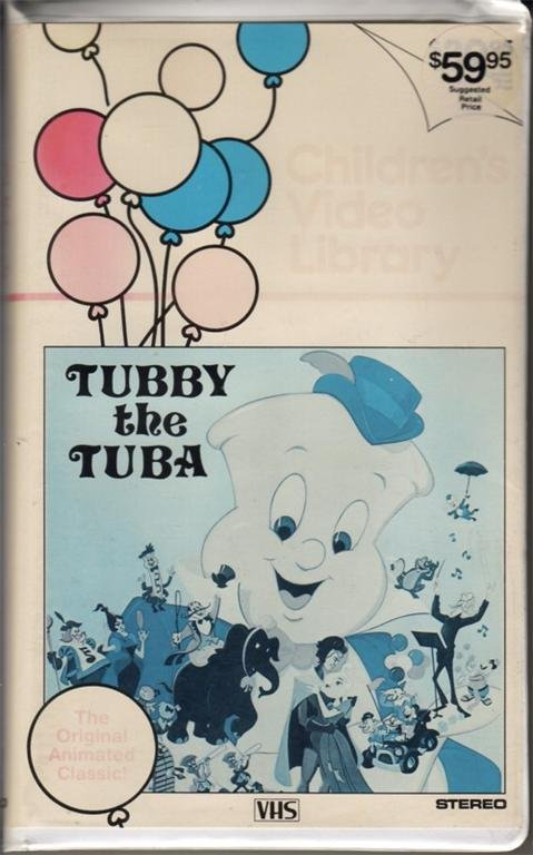 Tubby The Tuba 1977 Rare 81 Min Animated Musical 1983