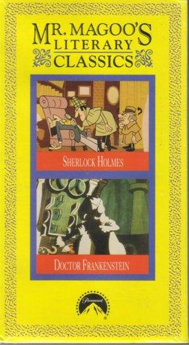 MR. MAGOO'S LITERARY CLASSICS NEW Sherlock Holmes & Dr Frankenstein MISTER MAGOO