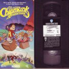 THE CHIPMUNK ADVENTURE 1987 RARE!! 76 Minute MOVIE Animated CHIPETTES VHS VIDEO