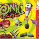 TONIC TROUBLE Nintendo 64 N64 COMPLETE IN BOX!!  ORIGINAL BOX/MANUAL/ VIDEO GAME