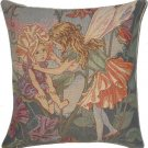 Tapestry Panel SWEET PEA FAIRY Cicely Mary Barker 14x14