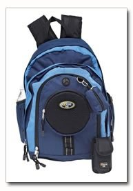 Heavy-Duty Backpack - Blue