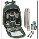 12pc Coffee Picnic Backpack Set