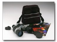 Magnacraft 10 x 50 Black And Gray Wide Angle Binocular With Case