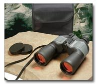 Magnacraft 10x50 Binoculars With Ruby Red Coated Lens