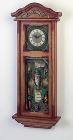 Club Fun Decoractive Wall Clock. Measures 12-3/4