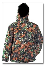 Childrens Camouflage Water Repellant Jacket with Elusions Design by Michael Collins - Size 9-10