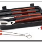 Chefmaster 8pc BBQ set in carrying case