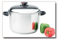The Steam ControlTM 12qt 5-Ply 304 Surgical Stainless Steel Stock Pot