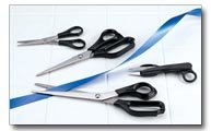 Maxam 4pc Utility Scissors Set