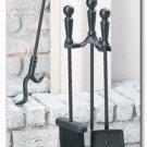 Maxam 4pc Fireplace Tool Set