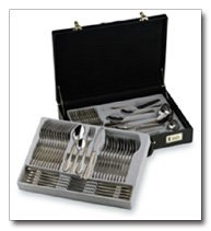 Sterlingcraft 72pc Stainless Steel Flatware and Hostess Set