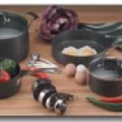 Maxalon By Chefs Secret 15pc Professional Quality Hard Anodized Cookware And Kitchen Accessories
